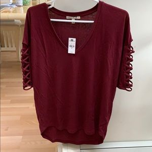 NWT Express 3/4 sleeve top. Size XS